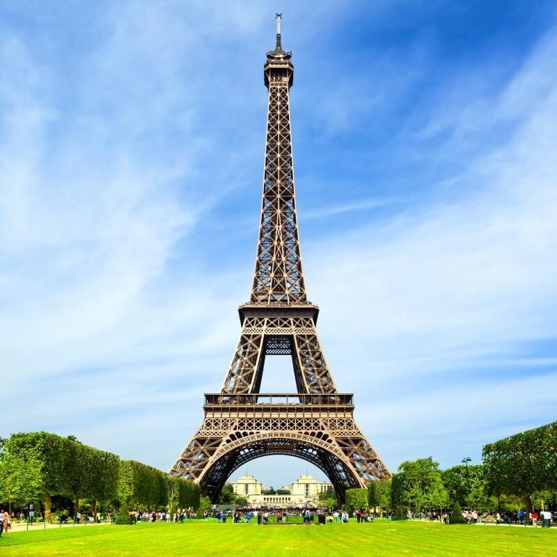 Eiffelova veža Paríž