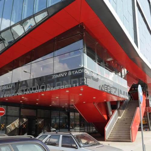 Zimný štadión Ondreja Nepelu - Bratislava